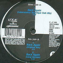 Renegade Masters - Back Again - Logic records - 1997 #739887