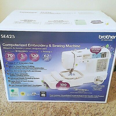 Sewing & Embroidery Machine SE425 (Brother)