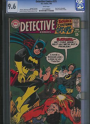 Detective Comics # 371 CGC 9.6  White Pages. UnRestored.