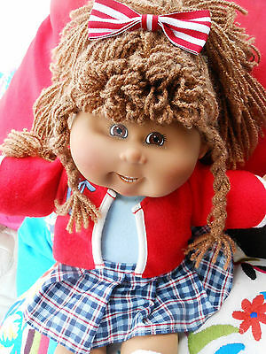 Cabbage Patch Play Along  Af/am Pretty Girl Full Clothed 2 Outfits Birth Cert