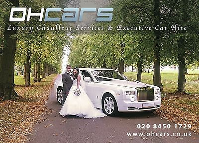 Wedding car hire. Rolls Royce phantom hire and much more