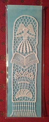 Angel LACE Bookmark Motif Crafts Made in England Abbey Lace of Bath