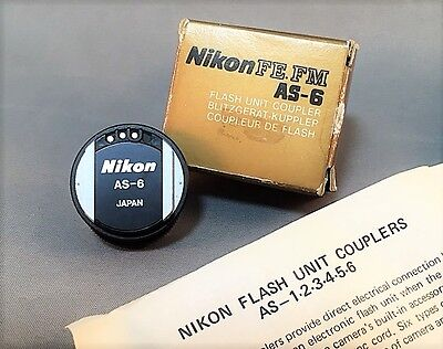 New  Other Nikon FE FM AS-6 Flash Unit Coupler From Japan