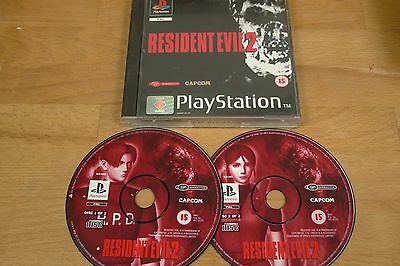 Sony Playstation Ps1 Game Resident Evil 2