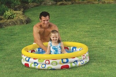 Kinder Pool Wild Geometry Ø 114 cm | Intex 59419 | Planschbecken | Kinderpool