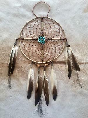 "New Native American Navajo Dream Catcher Medicine Spirit Wheel 8"" Collectible 10"