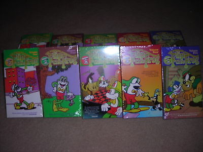 the complete adventures of flip the frog-5 vol.vhs set new & sealed