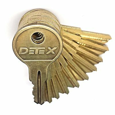 Detex Key Alarm Keys Set or Single Key for Battery Access Cover ECL230 EAX500 DT