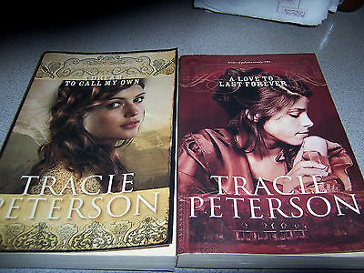 2 Soft Cover Books Brides Of Gallatin County Book 2 & 3 By Tracie Peterson