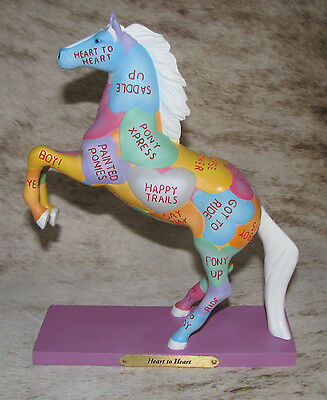 TRAIL OF PAINTED PONIES Heart To Heart ~ 1E/2029 ~ Happy Hearts Happy Trails ~