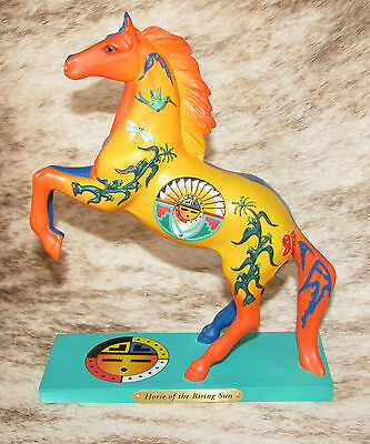 TRAIL PAINTED PONIES Horse of the Rising Sun 1E/1638~Sun is Life, Night is Stars