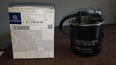 New Genuine Mercedes Benz OM651 Fuel Filter With Sensor A6510902952 Sprinter
