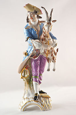 "Valuable Porcelain figurine, KPM Berlin, large elements Allegory ""Air"", H. 22 cm"