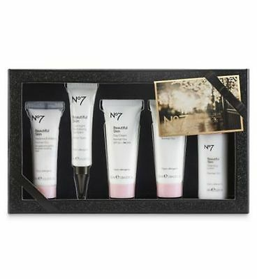 No7 BEAUTIFUL SKIN COLLECTION GIFT SET IN A PRESENTATION BOX SEALED VALENTINES