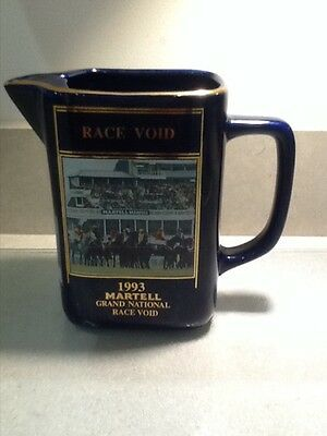 Martell Ceramic Water Jug  1993 Race Void Grand National Collectors Item