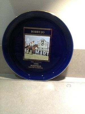Martell Grand National Bobby Jo Plate Limited Edition