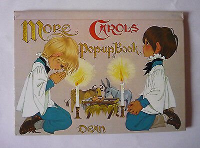 Christmas - More Carols Pop - Up Book - 1985 Hardback - Very Good Condition