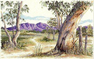 Outback Gum - Cross Stitch Chart by Country Threads