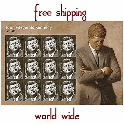 John F Kennedy Forever Stamps President stamp 12 new us Jfk  mint free shipping