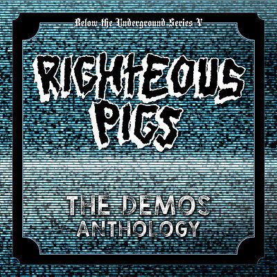 "RIGHTEOUS PIGS The Demos Anthology 2x7""#25 NAPALMDEATH,TERRORIZER,BRUJERIA,GRIND"