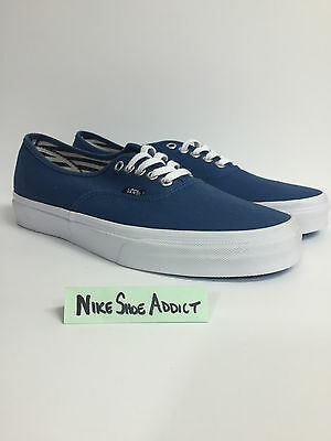 Vans Authentic Classic VN0004MKIPU Deck Club Skate Vault Navy Blue White Unisex