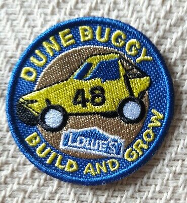 """DUNE BUGGY"" LOWES Build and Grow Kids Patch"