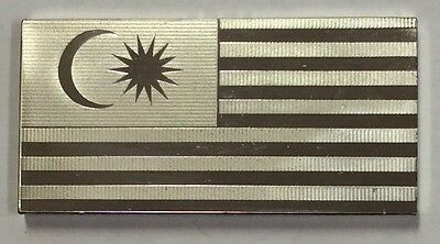 Malaysia - solid sterling silver ingot  - 39.0 grams