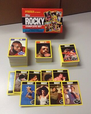2016 Topps 40th Anniversary Rocky 330-card trading card Base Set - Sorted - NEW!