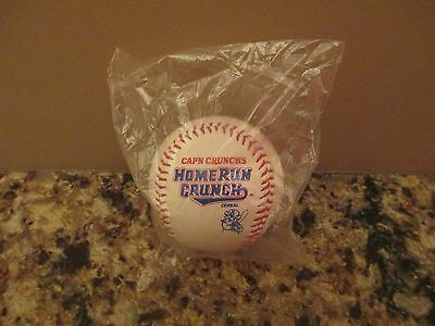 Cap'n Crunch's HOME RUN CRUNCH Promo Baseball - New in Package NIP