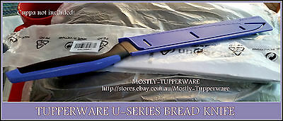 BNIP TUPPERWARE U-Series Bread Knife