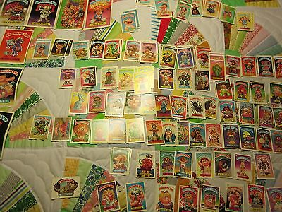 Vintage 250 Lot Plus Garbage Pail Sticker Cards Topps Chewing Gum Inc. Used Mint
