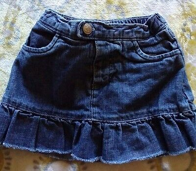 baby gap denim skirt size 6-12 months