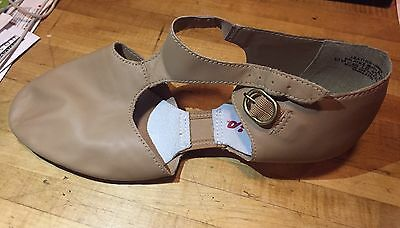 Capezio Pedini #321A Lyrical Sandal Modern Jazz Teaching Shoe, Caramel Size 11