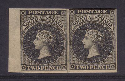 SA 1855 2d Chalon Perkins Bacon imperforate plate proof pair