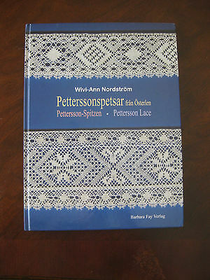 Pettersson Lace -  Swedish Bobbin Lace Book  w/ patterns & Folk Costumes pic