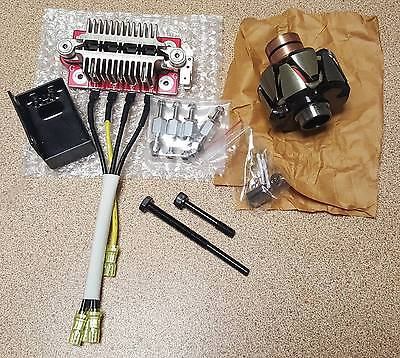 BMW Airhead Motorcycle Red Centre Alternator Upgrade R100RS R80 R100GSPD R100RT