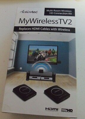 Actiontec MyWirelessTV2 Multi-Room Wireless HD Video Kit Complete - All Tested