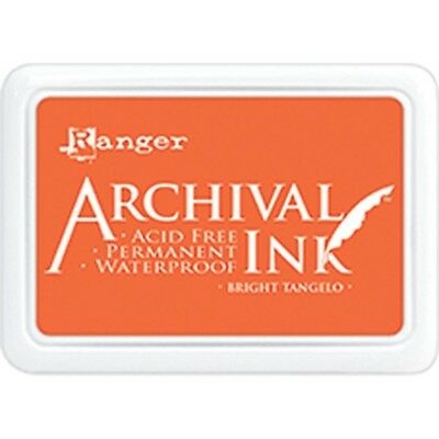 Archival Ink Pad #0 - Bright Tangelo