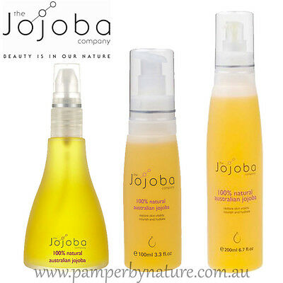 The Jojoba Company 100% Natural Australian Jojoba Oil - Available in 4 sizes