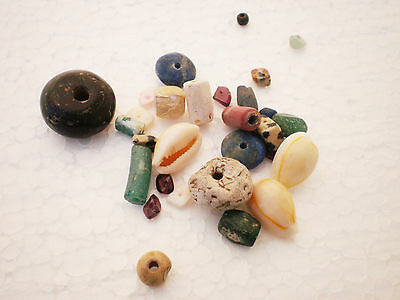 Beautiful Set RARE ANCIENT Viking BEADS Different Colors 7 - 9 century AD №3