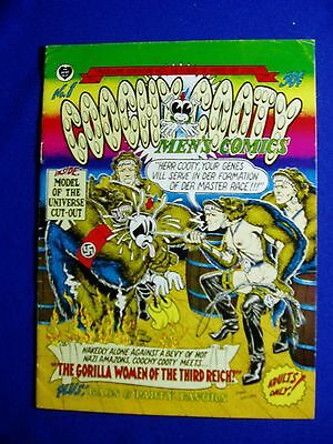 Coochy Coochy Men's Comics by Robert Williams. Underground. 1st print.  FN.