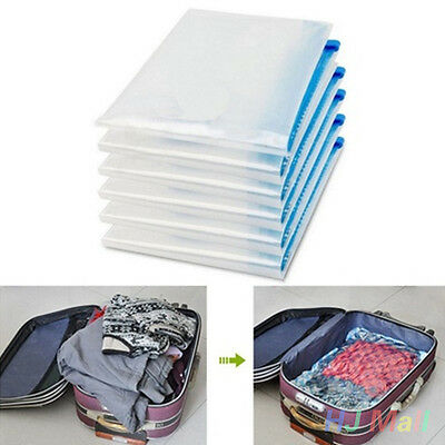 Roll-up Compression Vacuum Storage Bag Space Saving For Camping Traveling Home