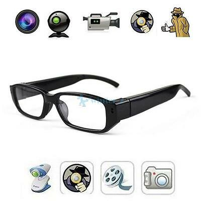 32GB Mini HD Glasses Spy Hidden Camera Sunglasses Eyewear Cam DVR Video Recorder