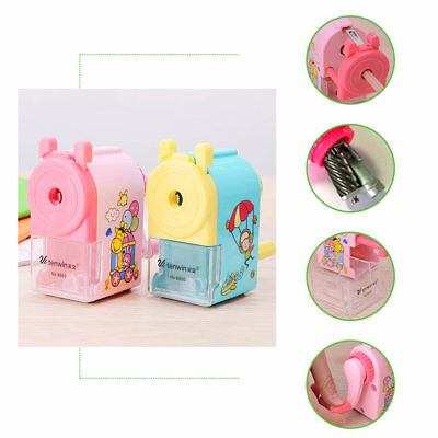 TENWIN Lovely Cute Rotary Pencil Sharpener Manual Office School Stationery YU