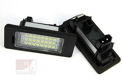 LED Can Bus License Licence Number Plate Light Lamp fit Audi A5 2008 ->