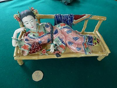 Porcelain Chinese figure