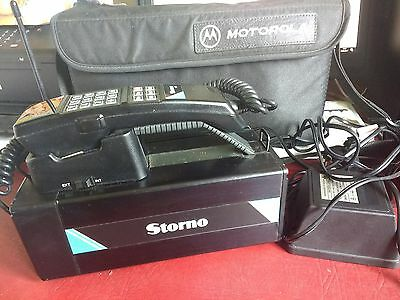 Motorola storno 110 brick/carry mobile phone 1990 mint and rare