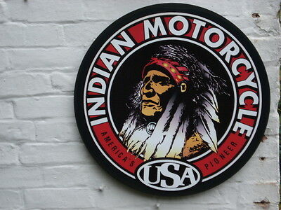Indian motor cycle sign