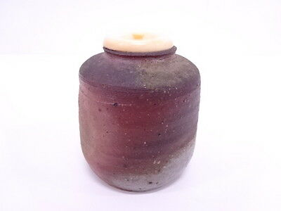2945505: Japanese Tea Ceremony / Chaire (Tea Caddy) / Bizen Ware / Artist's Work