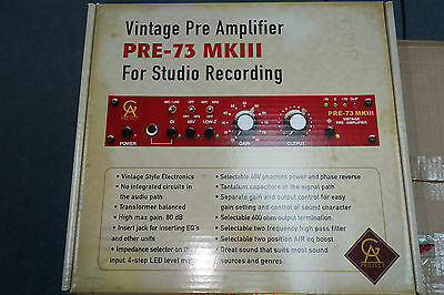 Golden Age Project PRE-73 MkIII Mic Preamp & Direct Box